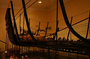 Sunk ship at Bodrum's Castle Museum (3).JPG