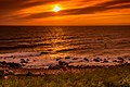 Sunset Seascapes Coastlines Newfoundland (41364624071).jpg