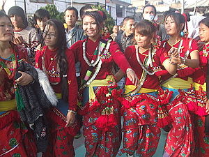 Sunuwar people - Sunuwar Udhauli at Nakhipot, Lalitpur, Nepal 6 Dec. 2014