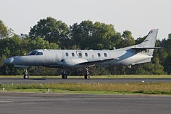 Swearingen SA-227AT Merlin IVC Private N577MX LUX Luxembourg (Findel) PP1317232892.jpg