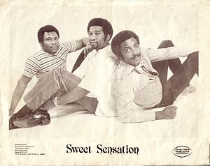 Sweet Sensation (band) - Sweet Sensation Publicity Photo of Original Founding Members