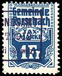 Switzerland Rorschach 1909 revenue 1Fr - 11.jpg
