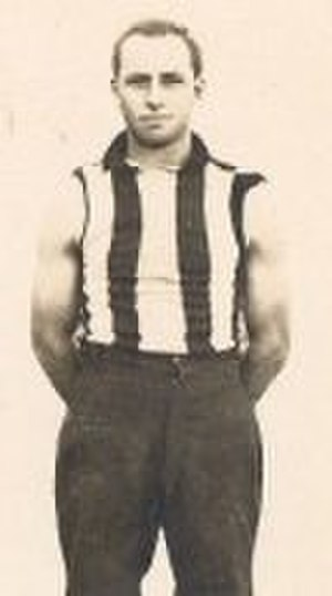 1927 VFL season - Brownlow Medal winner Syd Coventry