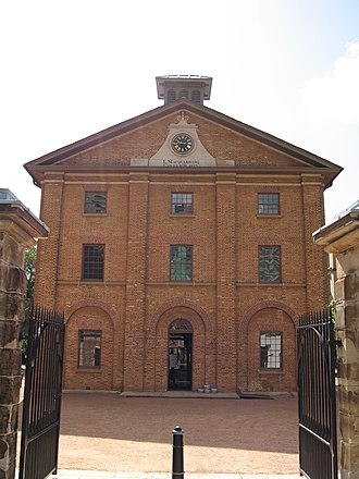 Australian non-residential architectural styles - Image: Sydney Hyde Park Barracks gobeirne