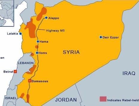 Syria Rebel Held Territories