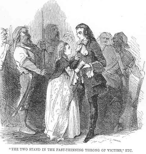 T2C. Carton the the young seamstress before going to the guillotine (John McLenan).jpeg