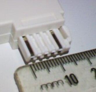 TDO connector - Image: TDO phone connector