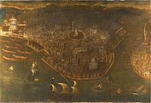 THE FALL OF CONSTANTINOPLE, ITALY, PROBABLY VENICE, LATE 15THEARLY 16TH CENTURY. Private coll..jpg