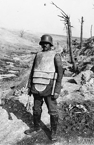 Bulletproof vest - World War I German Infanterie-Panzer, 1917