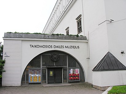 How to get to Taikomosios Dailės Muziejus with public transit - About the place