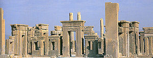 Fars Province - The ruins of Persepolis