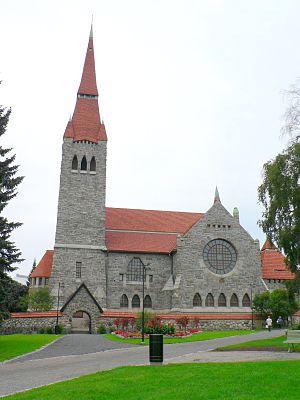 Tampere Cathedral - Image: Tampereen tuomiokirkko 1