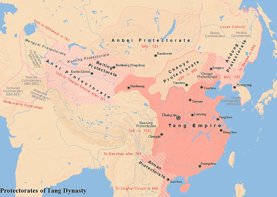 Tang Protectorates