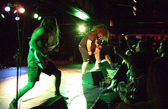 Tankard (band) - Image: Tankard live 07