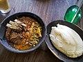 Tanzania Food Ugali and Mlenda.jpg
