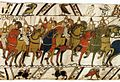 Tapestry by unknown weaver - The Bayeux Tapestry (detail) - WGA24163.jpg