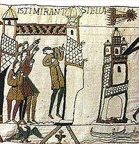 Un extrait de la tapisserie de Bayeux