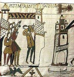 La comète sur la tapisserie de Bayeux