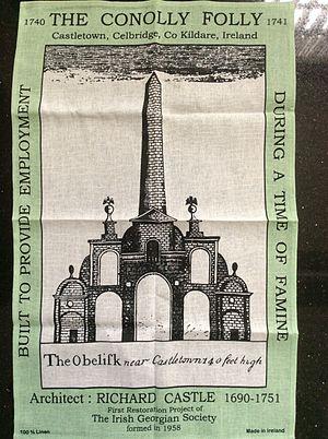 Conolly's Folly - Tea towel of the Conolly Folly
