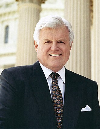 Ted Kennedy - Image: Ted Kennedy, official photo portrait crop