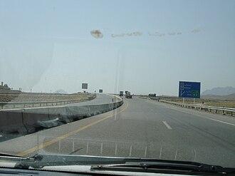 Freeway 5 (Iran) - Image: Tehran qom saveh