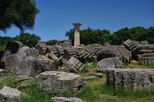 Temple of Zeus at Olympia (Toppled ruins)