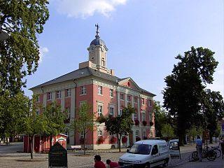 Templin Place in Brandenburg, Germany