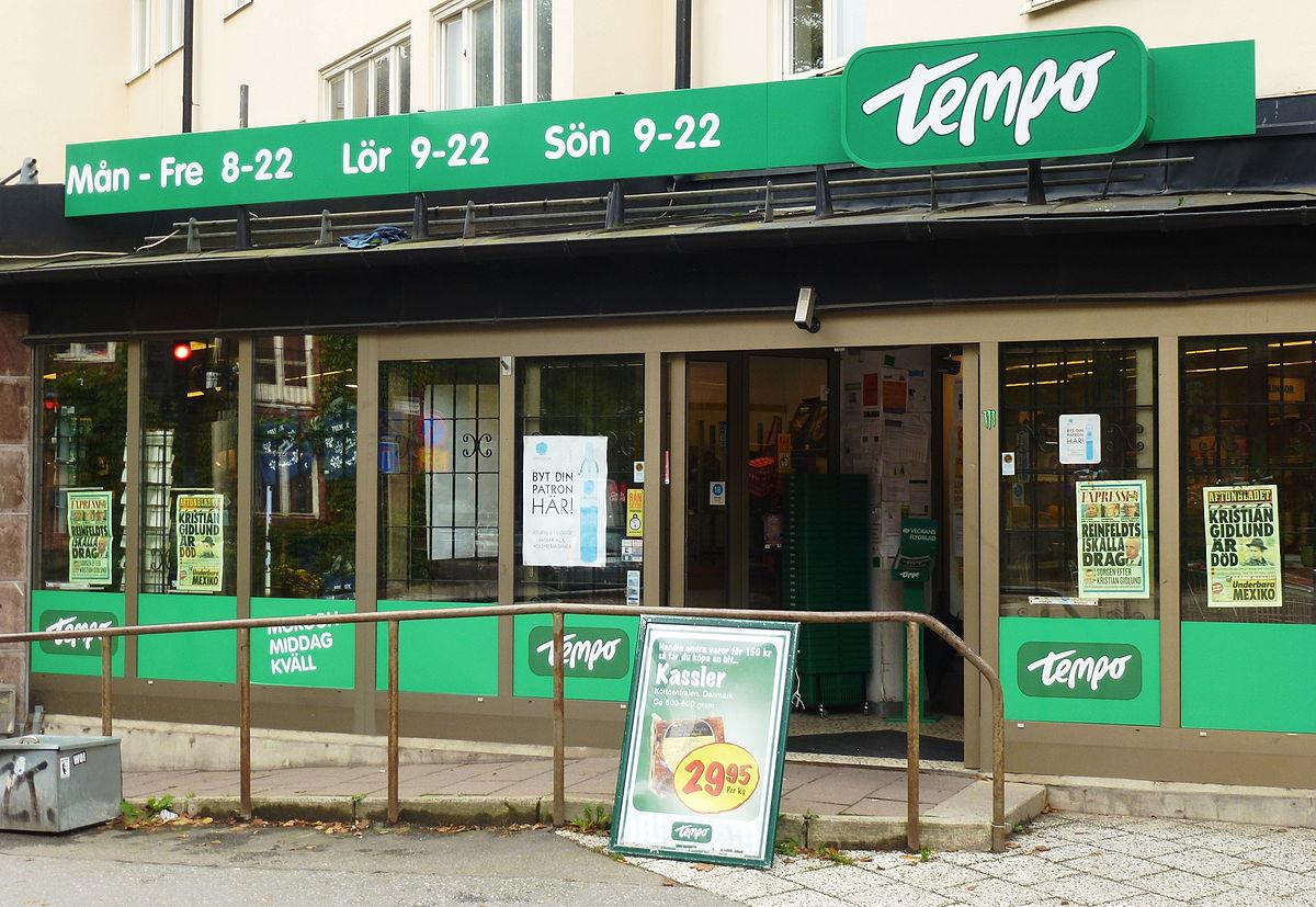 Tempo (butikskedja) – Wikipedia