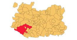 Ligging in Ciudad Real