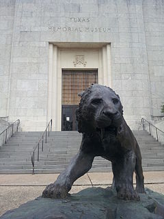 Texas Memorial Museum Natural history museum in Austin, Texas