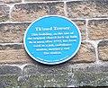 Th'owd Towser - Blue plaque - behind Holy Trinity Church - geograph.org.uk - 500173.jpg