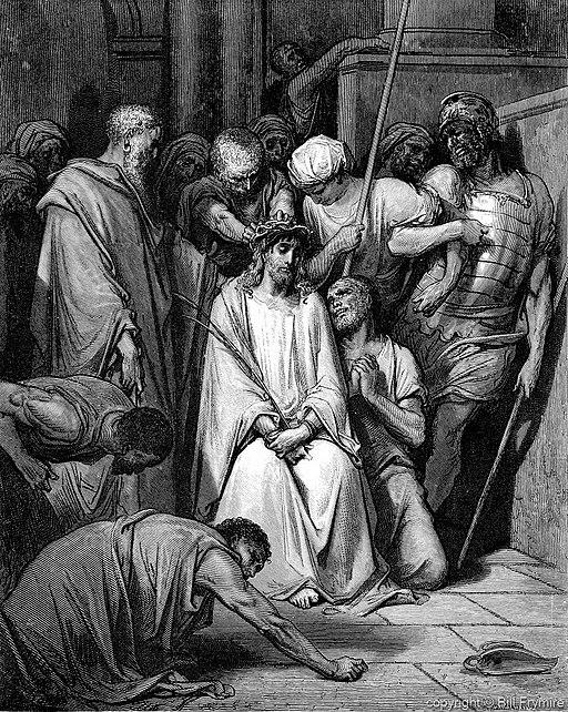 가시관을 쓰신 예수님 (귀스타브 도레, Gustave Dore, 1866년)