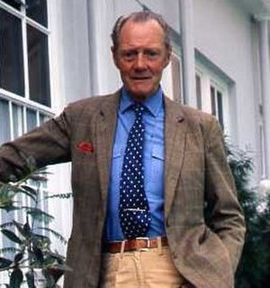 Valerian Wellesley, 8th Duke of Wellington - The Duke in 1986, by Allan Warren.