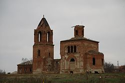 The Armenian church in Sultan-Saly.JPG