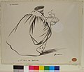 The Barman- The Colonel's Drink. Caricature of Criminal Court Judge, Alphonse Bard MET 20.167.jpg