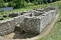 The Baths located outside the fort, considered as the best-preserved Roman military building in Britain, Chesters Roman Fort (Cilurnum), Hadrian's Wall (44705871822).jpg
