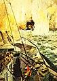 The Battle of Jutland, May 31, 1916, artwork by Claus Bergen (30175415340).jpg