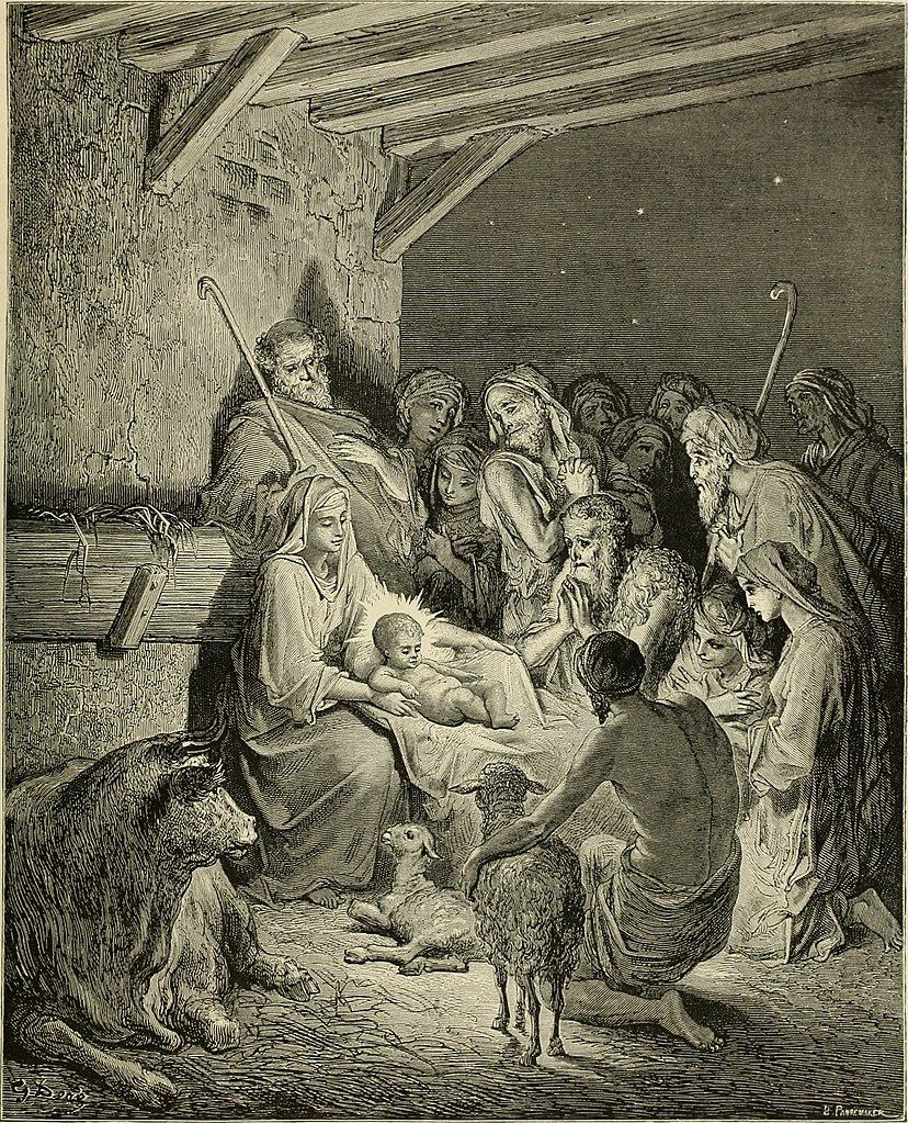 예수님의 탄생 (귀스타브 도레, Gustave Dore, 1866년)