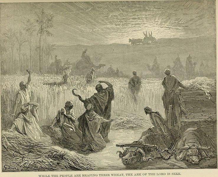 벧세메스로 법궤가 돌아오다 (귀스타브 도레, Gustave Dore, 1891년)