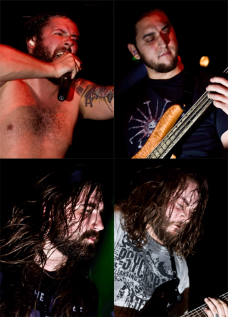 The Black Dahlia Murder (band) - The Black Dahlia Murder in 2010. Clockwise from top left: Strnad, Williams, Eschbach and Knight.