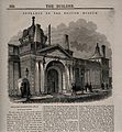 The British Museum at Montague House; the Russell Street fac Wellcome V0013529.jpg