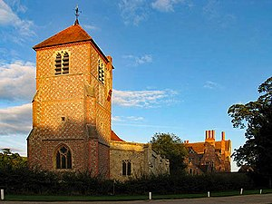 Mapledurham House - Image: The Church at Mapledurham House geograph.org.uk 241662