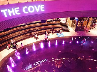 Waterway Point - One of the themed spaces, The Cove, located within the mall.