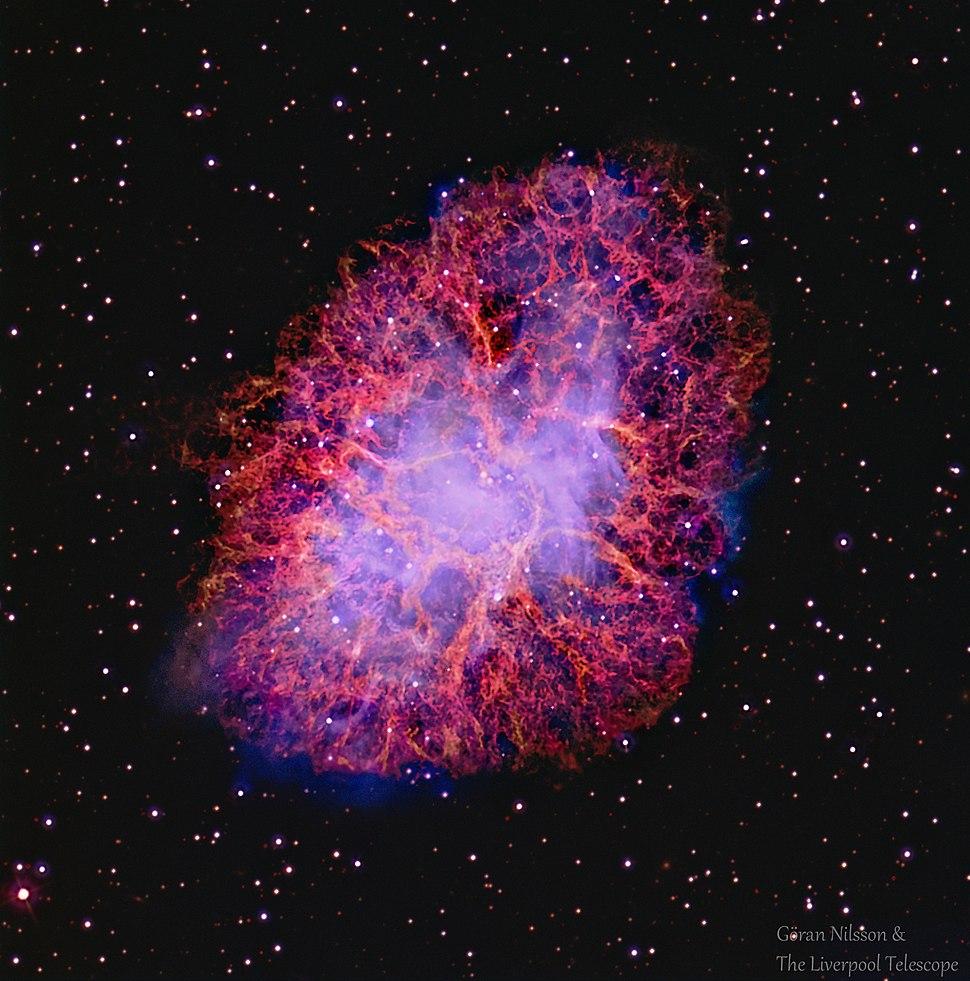 The Crab Nebula M1 Goran Nilsson & The Liverpool Telescope