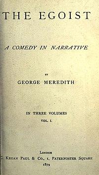 The Egoist cover