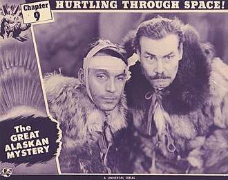 Harry Cording - Cording (right) in The Great Alaskan Mystery, 1944