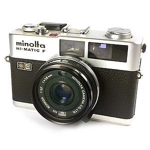 Minolta Hi-Matic - Minolta Hi-Matic F rangefinder camera made in Japan 1972