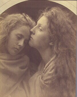 The Kiss of Peace, by Julia Margaret Cameron, M197101590002