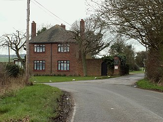 Baddow Park - Image: The Lodge to Baddow Park