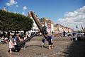 The Memorial Anchor, end of Nyhavn channel. Copenhagen, Denmark, Northern Europe.jpg